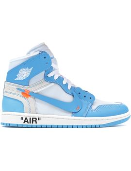 Jordan 1 Retro High Off White University Blue Welcome Re Stock X by Stock X