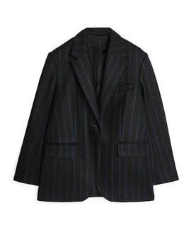 Pinstripe Melton Wool Blazer by Arket