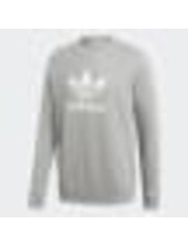 Trefoil Warm Up Crew Sweatshirt by Adidas