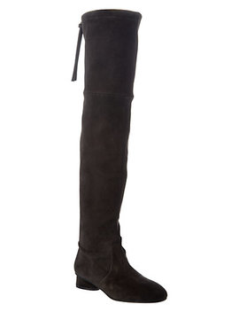 Stuart Weitzman Helena 30 Over The Knee Suede Boot by Stuart Weitzman