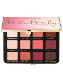Too Faced Just Peachy Mattes Velvet Matte 12 Eye Shadow Palette by Too Faced