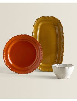 Irregular Terracotta Tableware by Zara Home