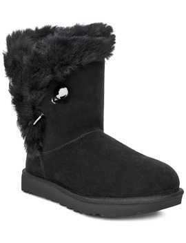 Classic Fluff Pin Genuine Shearling Bootie by Ugg