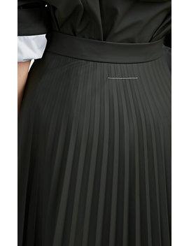 Pleated Full Midi Skirt by Mm6 Maison Margiela