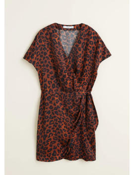 Vestido Estampado Leopardo by Mango