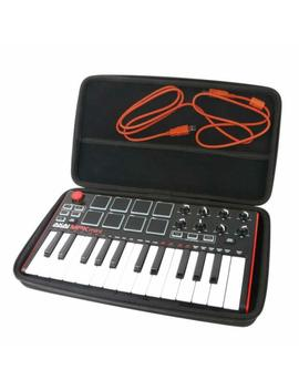 For Akai Professional Mpk Mini Mkii Portable Usb Midi Keyboard Eva Hard Case Car by Khanka