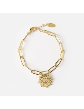 Medallion Chain Bracelet by Orelia