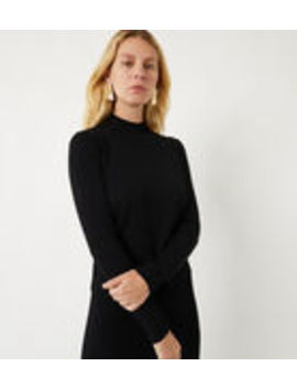 Ribbed High Neck Jumper by Warehouse