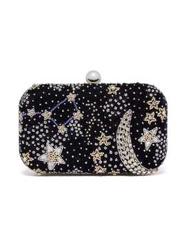 The Met X From St Xavier: Galaxy Beaded Clutch by The Metropolitan Museum Of Art
