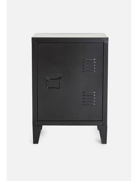 Graves Solo Cabinet – Black by Basics