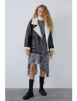 Oversized Double Faced Jacket by Zara