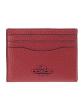 Crossgrain Flat Card Case   Geldbörse by Coach