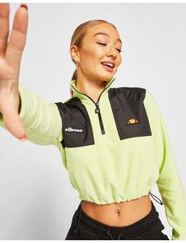 Ellesse 1/4 Zip Micro Fleece Sweatshirt by Jd Sports