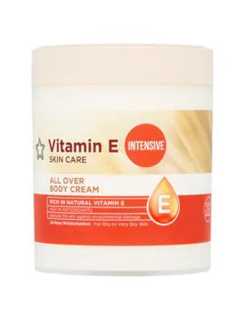 Vitamin E Intensive All Over Body Cream 475ml by Superdrug