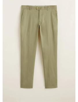 Pantalon Chino Slim Fit Serge by Mango