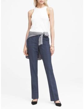 Logan Trouser Fit Washable Italian Wool Blend Pant by Banana Republic