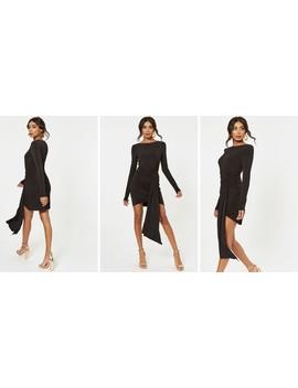 Black Morello Mini Dress by The Jetset Diaries