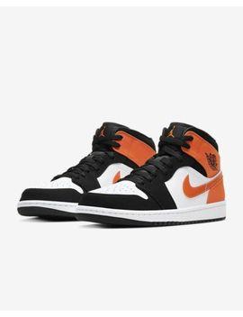 Nike Air Jordan 1 Mid Shattered Back Board Sbb Starfish Orange Uk 4 5 6 7 8 9 Us by Ebay Seller