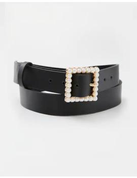 Cintura Con Fibbia Con Perle by Pull & Bear