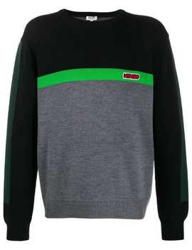 Colour Block Jumper by Kenzo