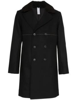 Double Breasted Mid Length Coat by Dashiel Brahmann