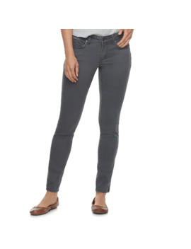 Women's Sonoma Goods For Life™ Supersoft Midrise Sateen Skinny Pants by Sonoma Goods For Life