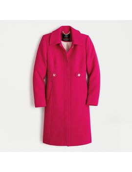 New Lady Day Coat In Italian Double Cloth Wool With Thinsulate® by New Lady Day Coat In Italian Double Cloth Wool With Thinsulate