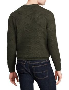Textured Cotton Sweater by Chaps