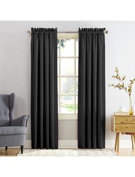 Sun Zero Kylee Energy Efficient Rod Pocket Curtain Panel by Sun Zero