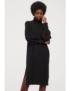 Pletené šaty S Rolákem by H&M