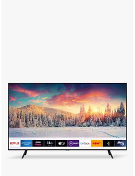 "Samsung Qe65 Q70 R (2019) Qled Hdr 1000 4 K Ultra Hd Smart Tv, 65"" With Tv Plus/Freesat Hd & Apple Tv App, Slate Black by Samsung"