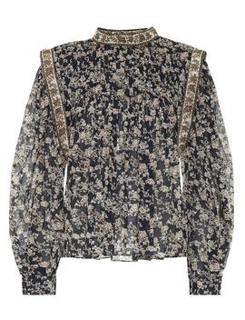 Vega Floral Cotton Blouse by Isabel Marant, Étoile