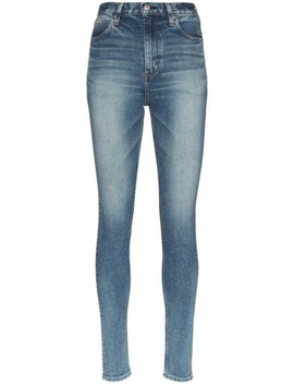 Faded Slim Fit Jeans by Hyke