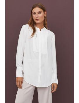 Bluzka Z Frakowym Gorsem by H&M