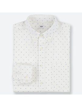 Herren Hemd Aus Extra Feiner Baumwolle Mit Print (Button Down Kragen) by Uniqlo
