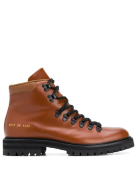 Signature Hiking Boots by Common Projects