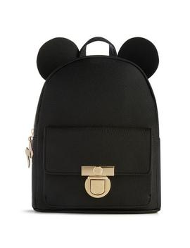 Mickey Mouse Black Backpack by Primark