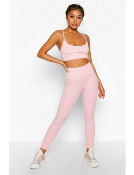 Fit Seamless High Waisted Leggings by Boohoo