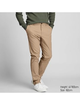 Men Slim Fit Chino Trousers (83) by Uniqlo