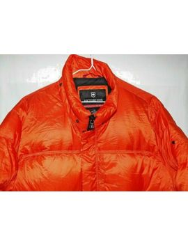 Guaranteed Authentic Victorinox Davos Insulated Puffer Puffa Duck Down Jacket Xl by Ebay Seller
