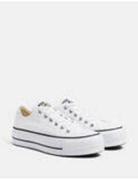 Αθλητικά πλατφόρμα Converse Chuck Taylor All Star by Bershka