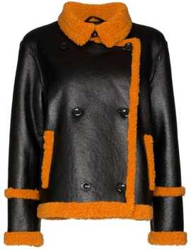 Lilli Faux Shearling Jacket by Stand Studio