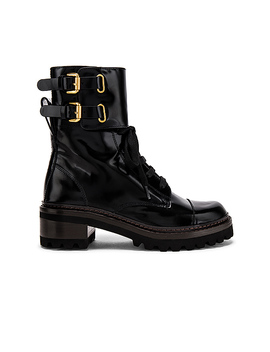 Mallory Boot In Nero by See By Chloe