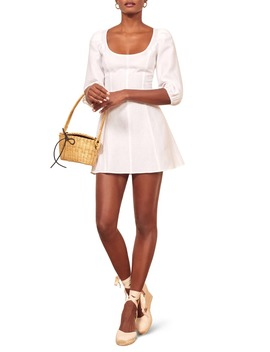 Maxine Linen Minidress by Reformation