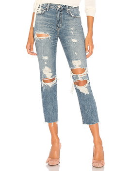 Logan High Rise Tapered Jean In Ainsley by Lovers + Friends