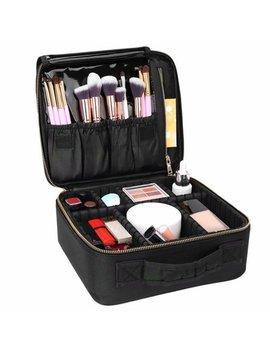 Cwatonfozk Soft Makeup Bag/ Makeup Case, Black by Cwatonfozk