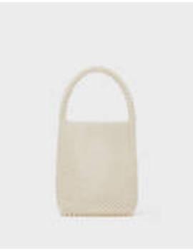 Τσάντα με πέρλες by Bershka