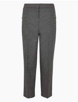 Evie Straight 7/8th Trousers by Marks & Spencer