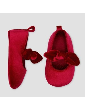 Baby Girls' Mary Jane Bow Crib Shoes   Just One You® Made By Carter's Pink 0 3 M by Just One You Made By Carter's