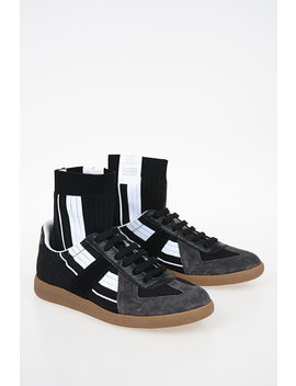 Mm22 High Sneakers by Maison Margiela